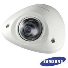Camera IP 2MP, Exterior, POE, Slot Card, lentila 3.0 - Samsung SNV-6012M
