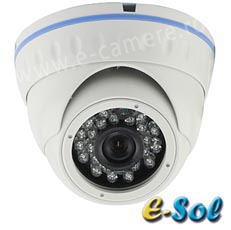 Camera IP 2MP Exterior, POE, Slot Card, IR 20m, lentila 3.6 - e-Sol D200/20-M
