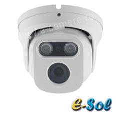 Camera IP 5MP, Exterior, IR 40m, POE, lentila 5.0 - e-Sol D500-40/6
