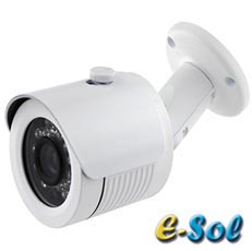 Camera IP 2MP, Exterior, IR 20m, lentila 3.6 - e-Sol ES200-3.6/20