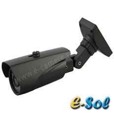 Camera IP 2MP, Bullet, exterior, IR 60m, POE, Varifocala - e-Sol ES200-60
