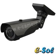 Camera supraveghere video IP exterior<br /><strong>e-Sol ES400-40</strong>