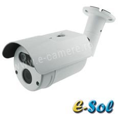 Camera IP 5MP, Exterior, IR 40m, POE, lentila 5.0 - e-Sol ES5/40