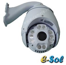 Camera IP 1.3MP, Speed Dome, exterior, IR 130m, Zoom 27x - e-Sol ES900/1.3