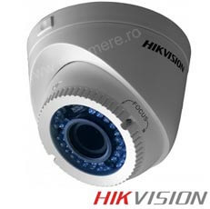 Camera 1MP Turbo HD, Exterior, IR 40m, Varifocala 2.8-12 - HikVision DS-2CE56C2T-VFIR3