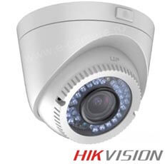 Camera Dome Turbo HD Exterior 2MP, IR 40m, Varifocala 2.8-12 - HikVision DS-2CE56D1T-VFIR3
