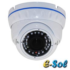 Camera Dome AHD, 2MP, IR 20m, lentila 3.6 - e-Sol D200/20A