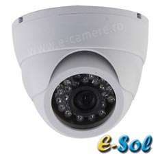 Camera Dome 1MP, IR 20m, lentila 3.6 - e-Sol DP100/20A
