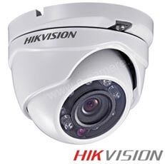 Camera Dome Turbo HD Exterior 1MP, IR 20m, lentila 2.8 - HikVision DS-2CE56C2T-IRM