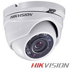 Camera Dome Turbo HD Exterior 2MP, IR 20m, lentila 3.6 - HikVision DS-2CE56D5T-IRM