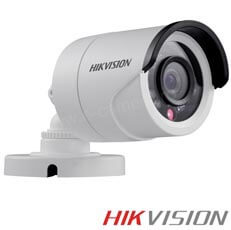 Camera Bullet Turbo HD Exterior 2MP, IR 20m, lentila 3.6- HikVision DS-2CE16D1T-IR