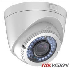 Camera Dome Turbo HD Exterior 2MP, IR 40m, Zoom 4x - HikVision DS-2CE56D1T-IR3Z