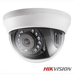 Camera Dome HDTVI 2MP, IR 20m, lentila 2.8 - HikVision DS-2CE56D0T-IRMM