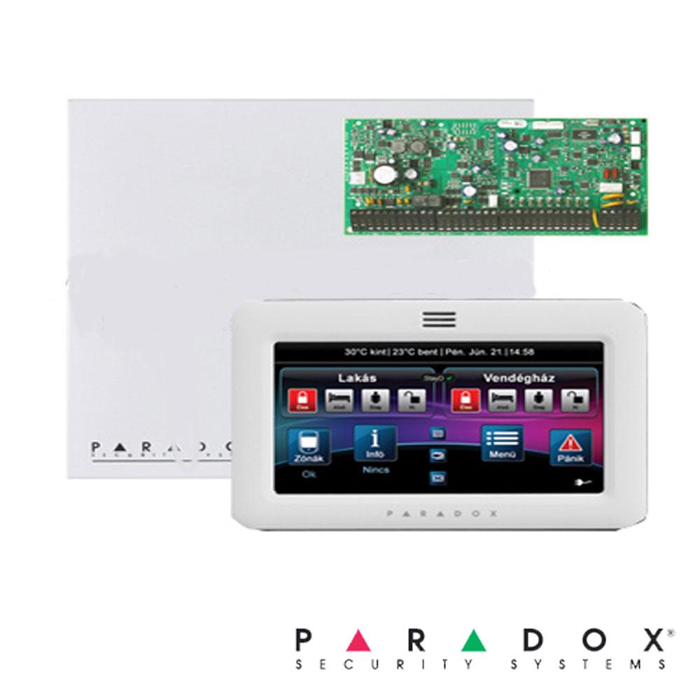 Centrala alarma EVOHD, in cutie cu transformator si tasatatura TM70 - Paradox EVOHD-TM70