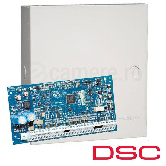 Centrala alarma 8 zone, max 64 zone, Tastatura neinclusa - DSC NEO-2064NK