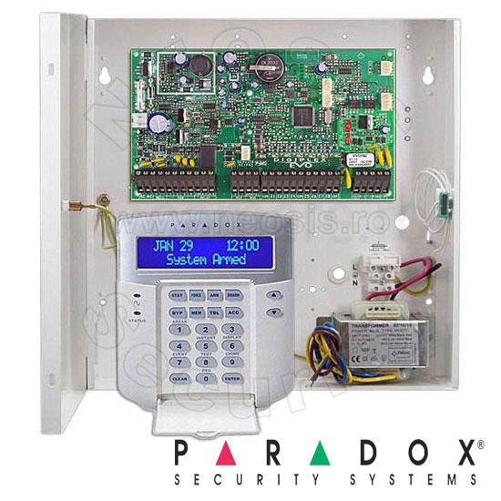 Centrala alarma SP7000 in cutie si tastatura K32 - Paradox SP7000-K32
