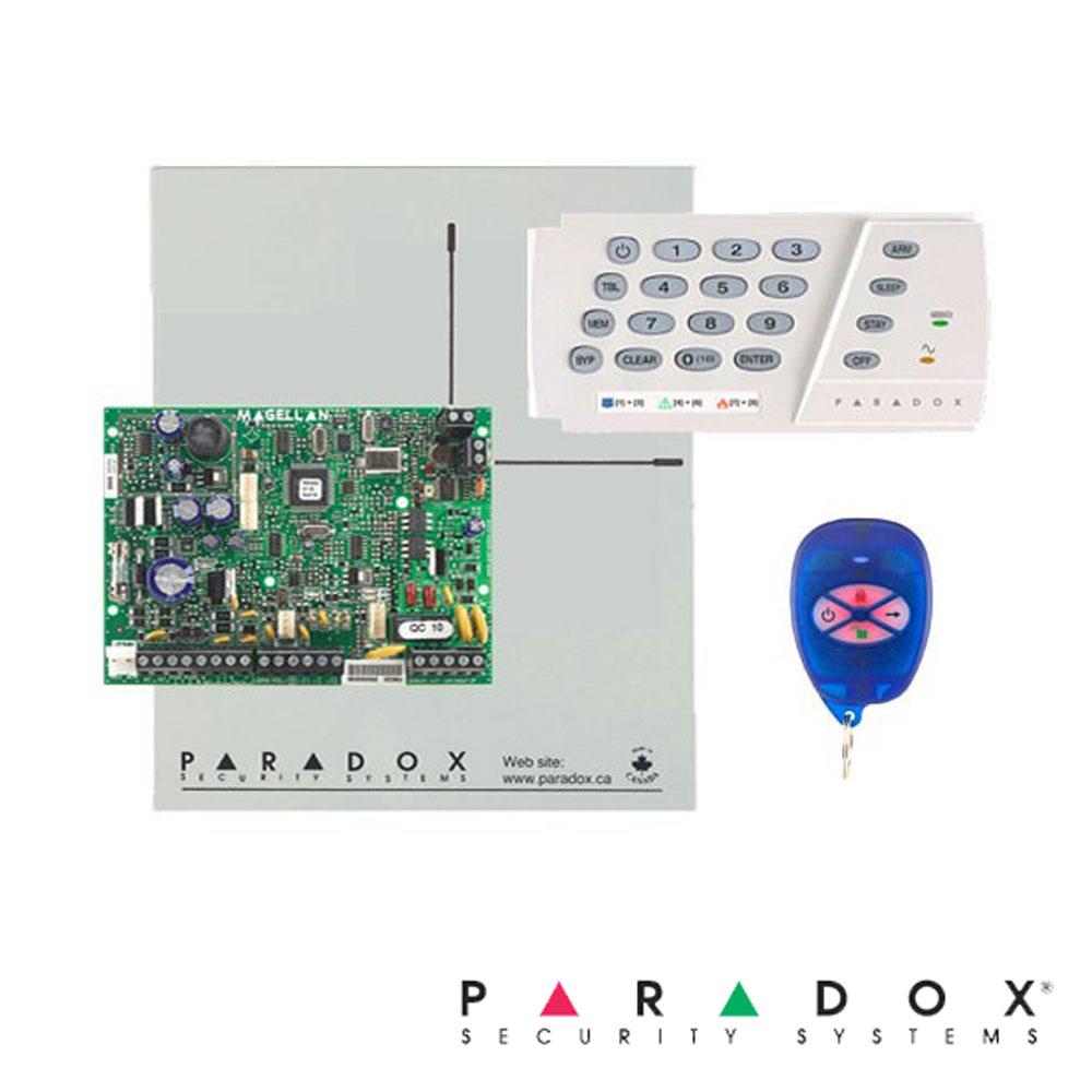 Centrala alarma MG5050 in cutie cu transformator si tastatura K636 - Paradox MG5050-K636