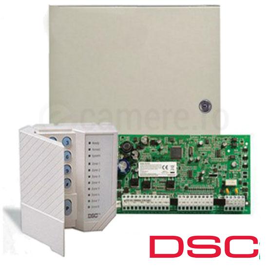 Centrala alarma 6 zone, extensibila 16, tastatura 8 zone inclusa - DSC PC1616