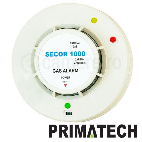 Detector de Gaz Metan, Monoxid de carbon - Primatech SECOR-1000
