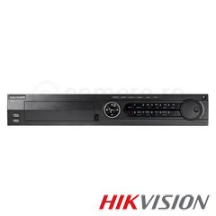 DVR Turbo HD, 16 canale 3MP + 18 IP max 2MP, 2xHDD - HikVision DS-7316HUHI-F4
