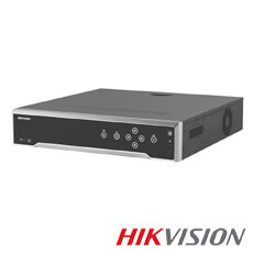 NVR 32 canale 12MP, Bitrate 256Mbps, 16 POE, 4xHDD - HikVision IDS-7732NXI-I4/8S