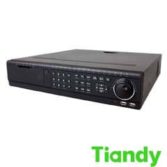 NVR 80 canale IP 6MP, Bitrate 400Mbps, 4K, 8xHDD - Tiandy TC-NR5080M7-S8