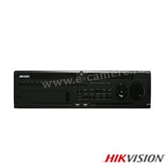 NVR 64 canale IP 12MP, Bitrate 256Mbps, 8xHDD - HikVision DS-9664NI-I8