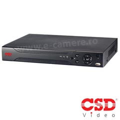 DVR  HD 4 canale video  <b>HIBRID</b> H.264<br /><strong>CSD CSD-HCVR-7204H-CVI</strong>