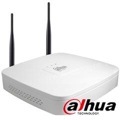 NVR WiFi 4 canale 5MP, Bitrate 80 Mbps - Dahua NVR4104-W