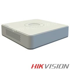 NVR 4 canale IP 1080P, 4 POE, Bitrate 25 Mbps - HikVision DS-7104NI-SN/P